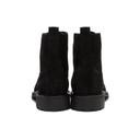Belstaff Black Rustic Suede New Alperton Boots