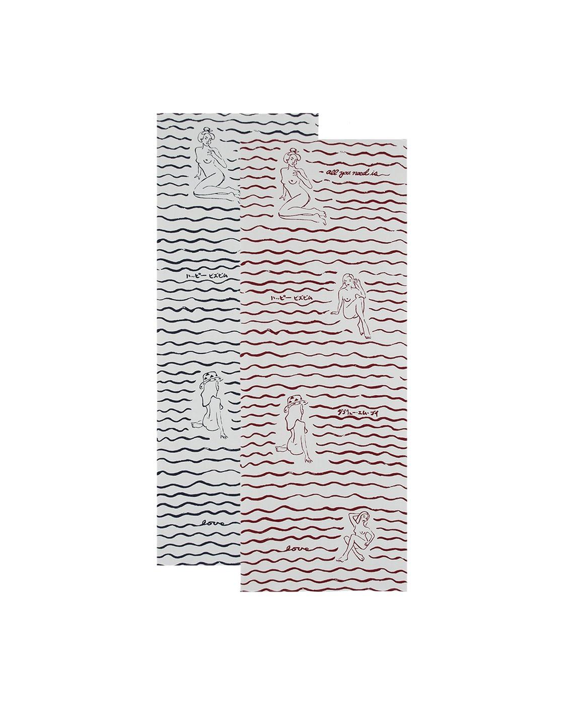 Photo: Visvim Tenugui Hand Towels Multi