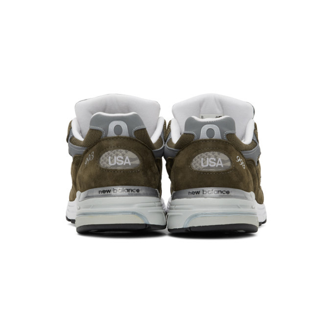 New Balance Khaki 993 Sneakers
