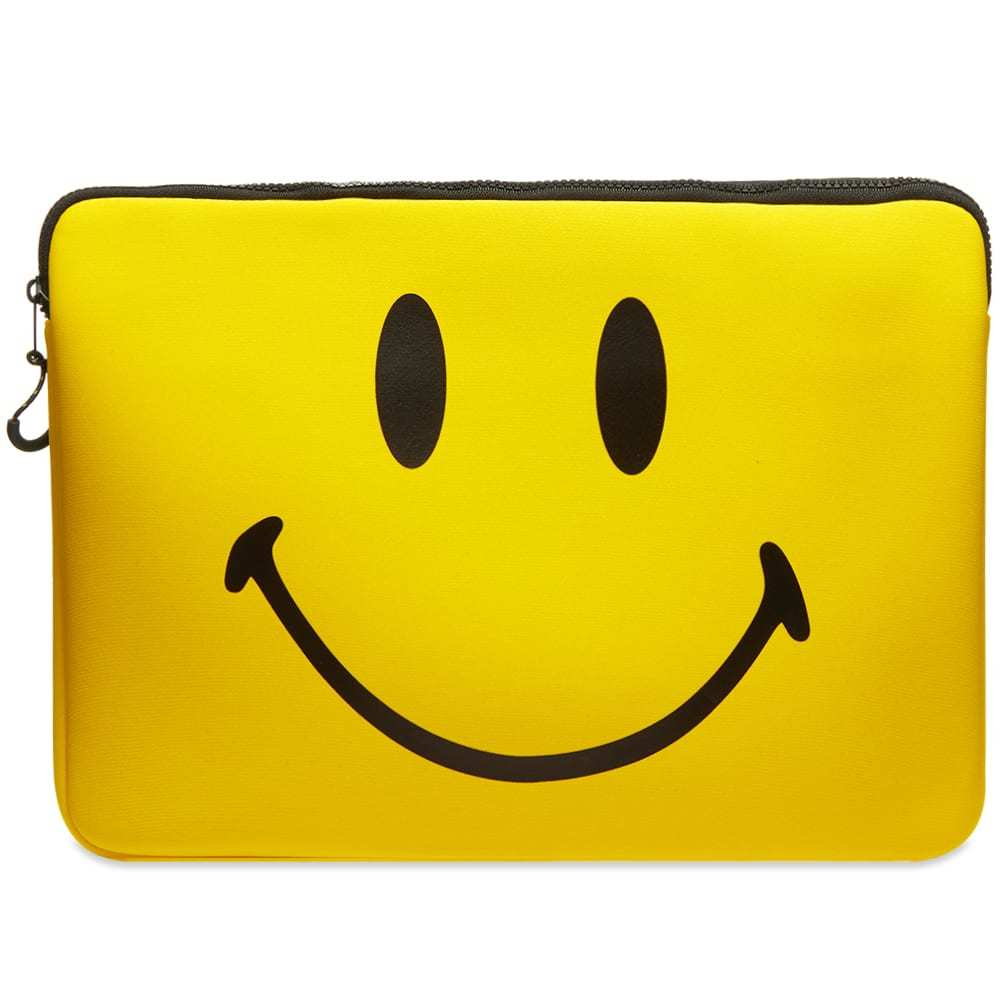 Photo: Chinatown Market Smiley 15 Inch Laptop Case