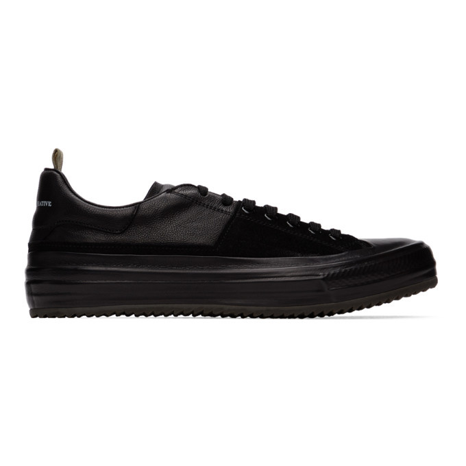 Photo: Officine Creative Black Mes 3 Sneakers