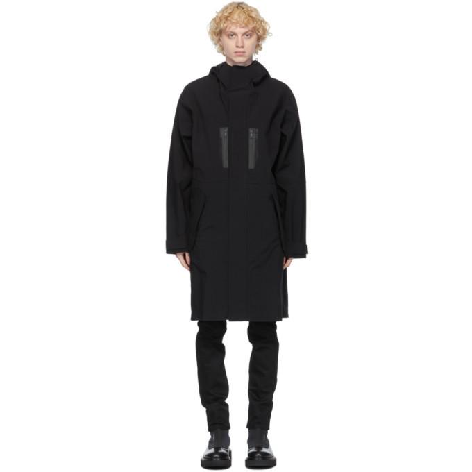 Photo: Givenchy Black Panelled Parka