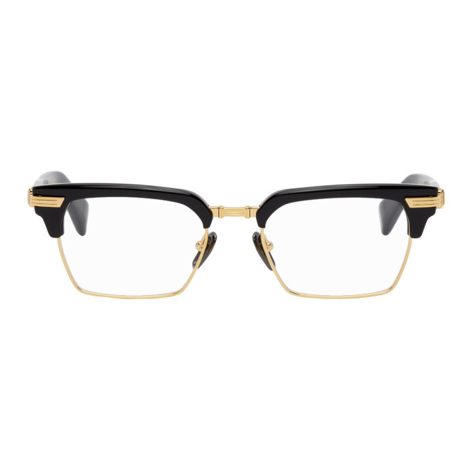 Photo: Balmain Black and Gold Legion II Glasses
