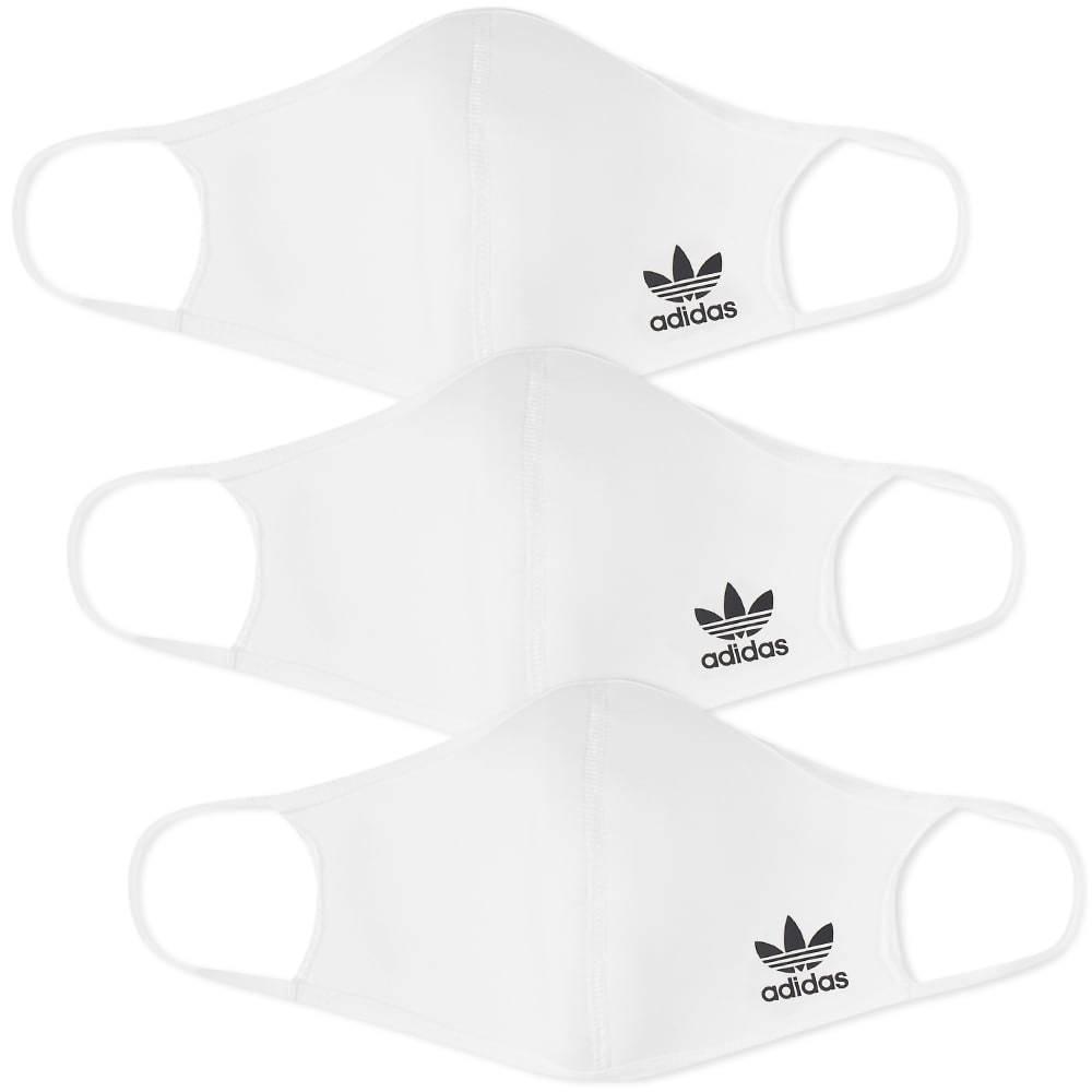 Adidas Originals Logo Face Mask - 3 Pack