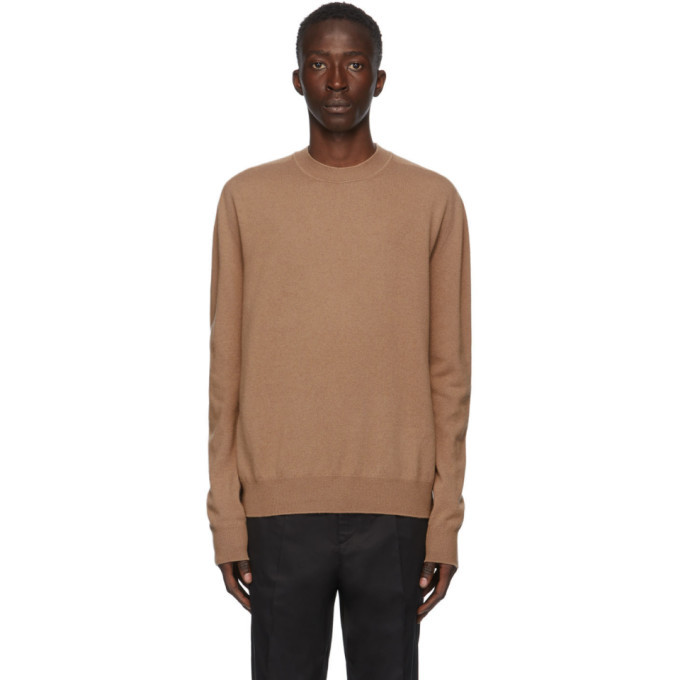 Photo: Jil Sander Beige Cashmere Sweater