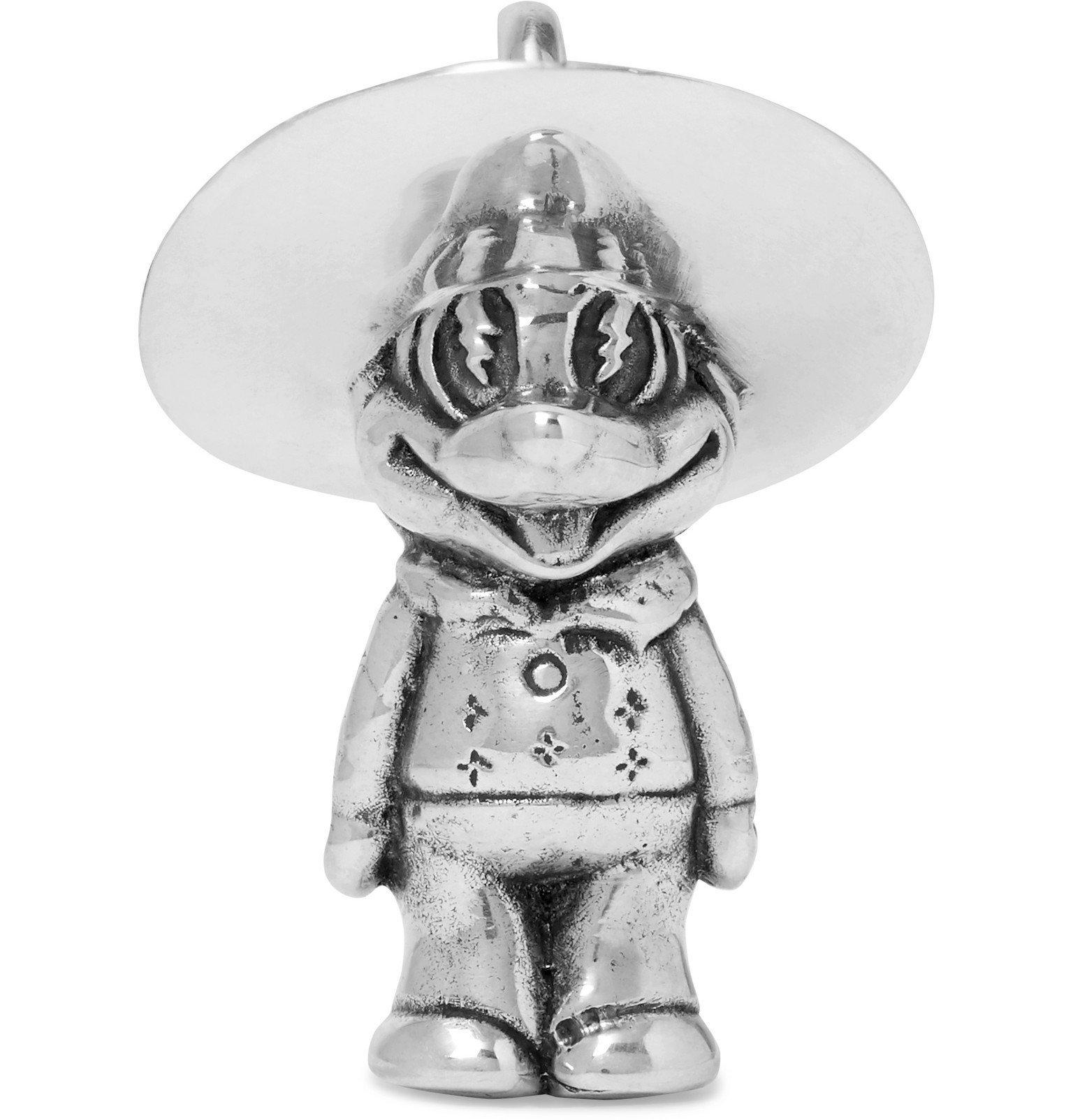 Photo: MAPLE - Sterling Silver Pendant - Silver