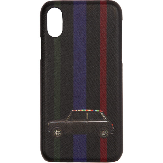 Photo: Paul Smith Black New Mini iPhone X Case