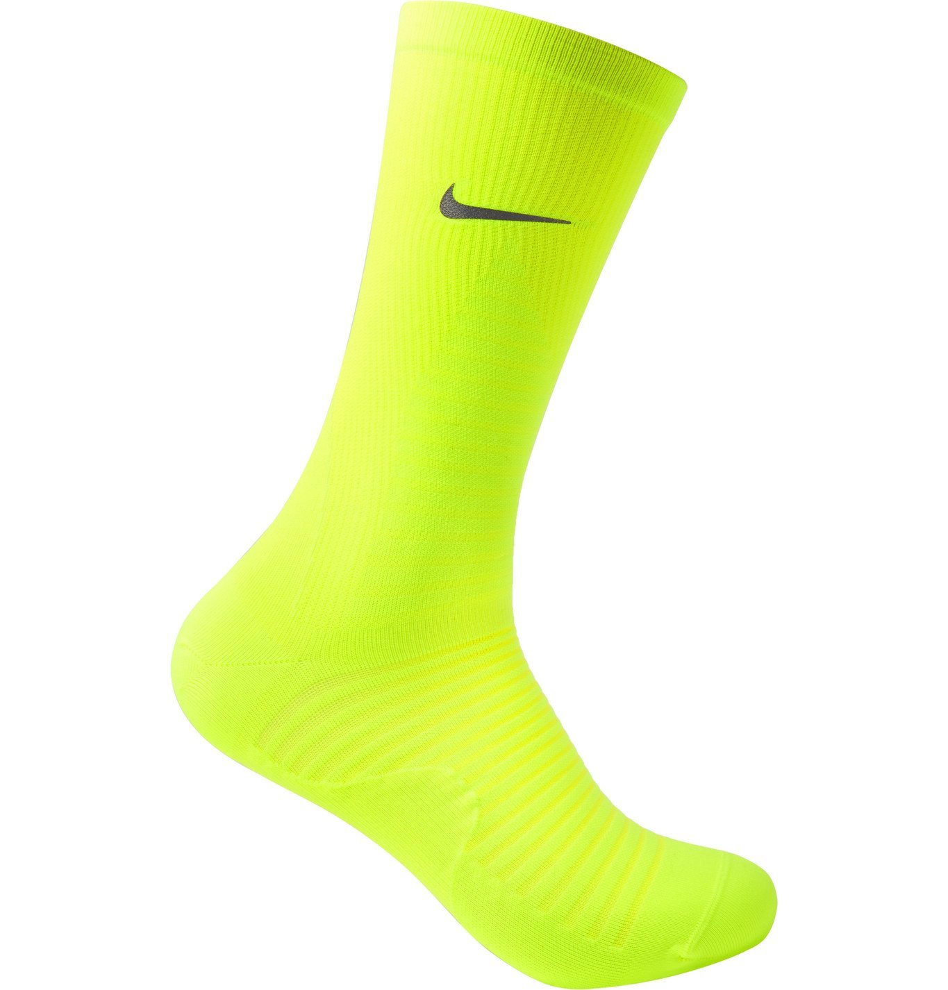 Nike Running - Spark Lightweight Stretch-Knit Socks - Yellow