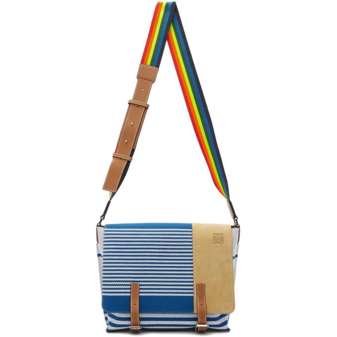Photo: Loewe Blue Millit Messenger Bag