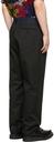 Sacai Black Chino & Grosgrain Trousers