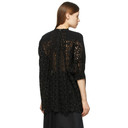 Sacai Black Star Embroidered Pullover