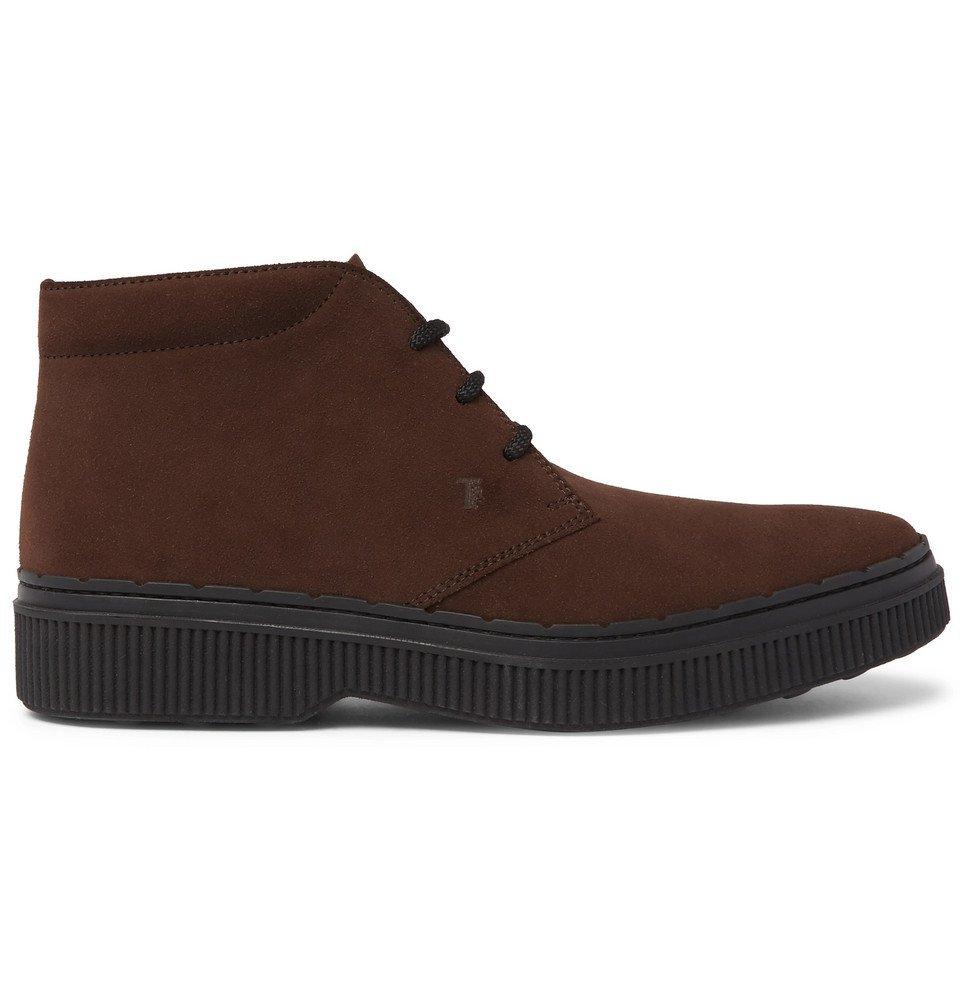 Tod's - Nubuck Desert Boots - Men - Brown