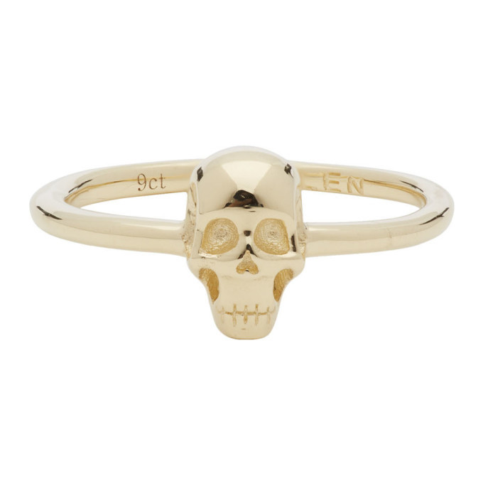 Photo: Stolen Girlfriends Club Gold Baby Skull Ring