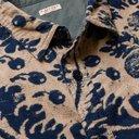 KAPITAL - Indigo-Dyed Printed Cotton-Flannel Shirt - Blue