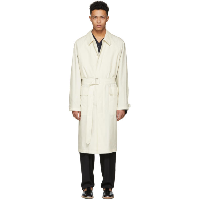 Photo: Lemaire Ivory Great Raincoat