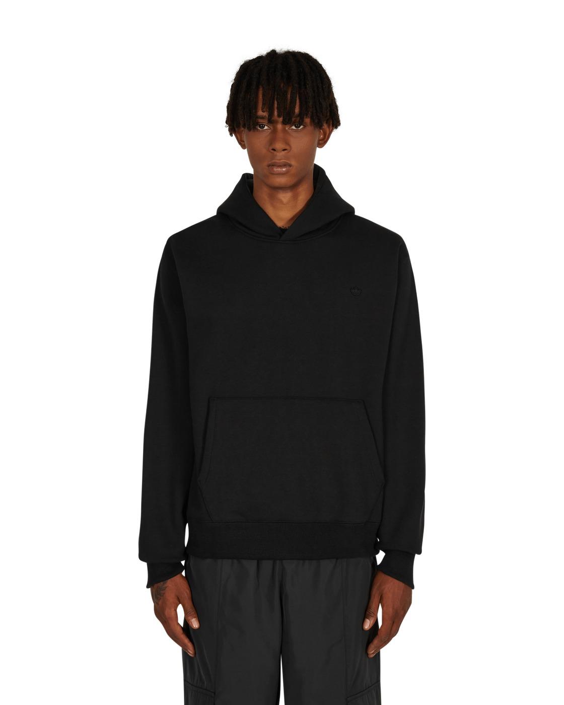 Photo: Adidas Originals Adicolor Trefoil Hooded Sweatshirt Black