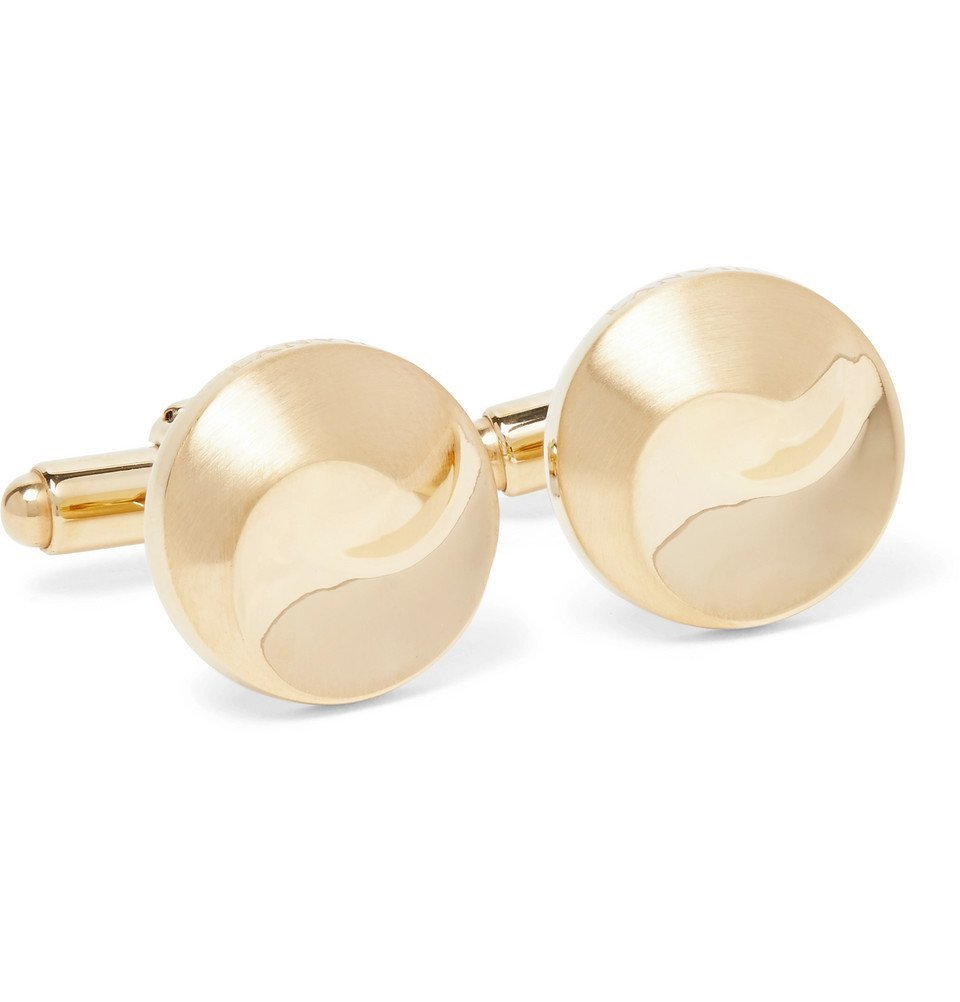 Photo: Lanvin - Gold-Plated Cufflinks - Gold