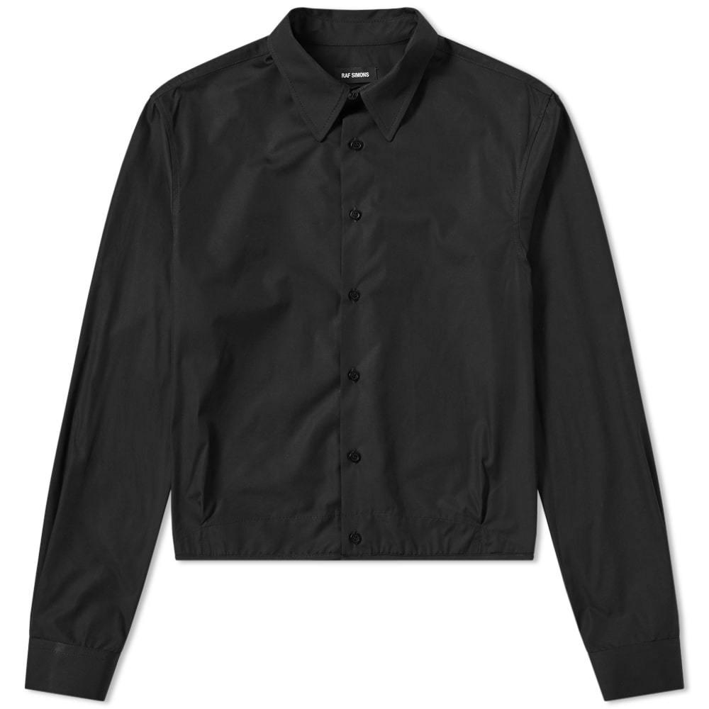 Raf Simons Two Pleat Shirt Black