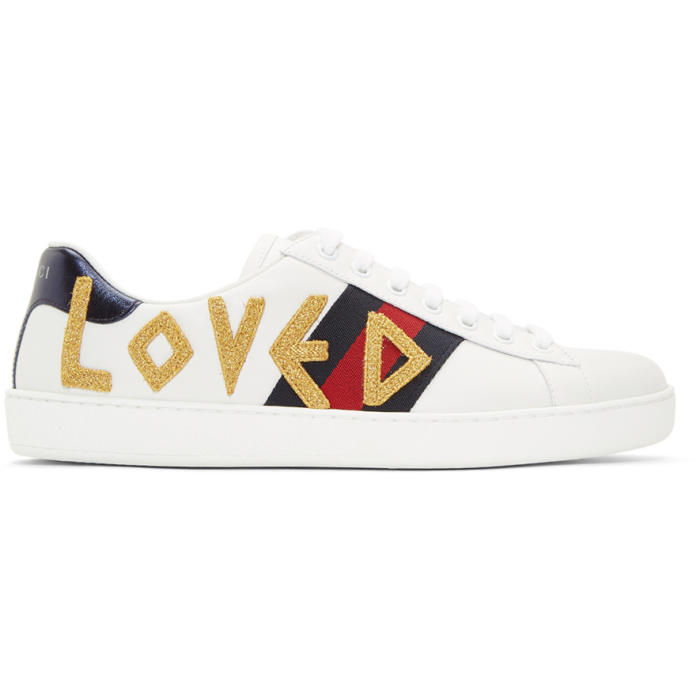 Photo: Gucci White Loved New Ace Sneakers