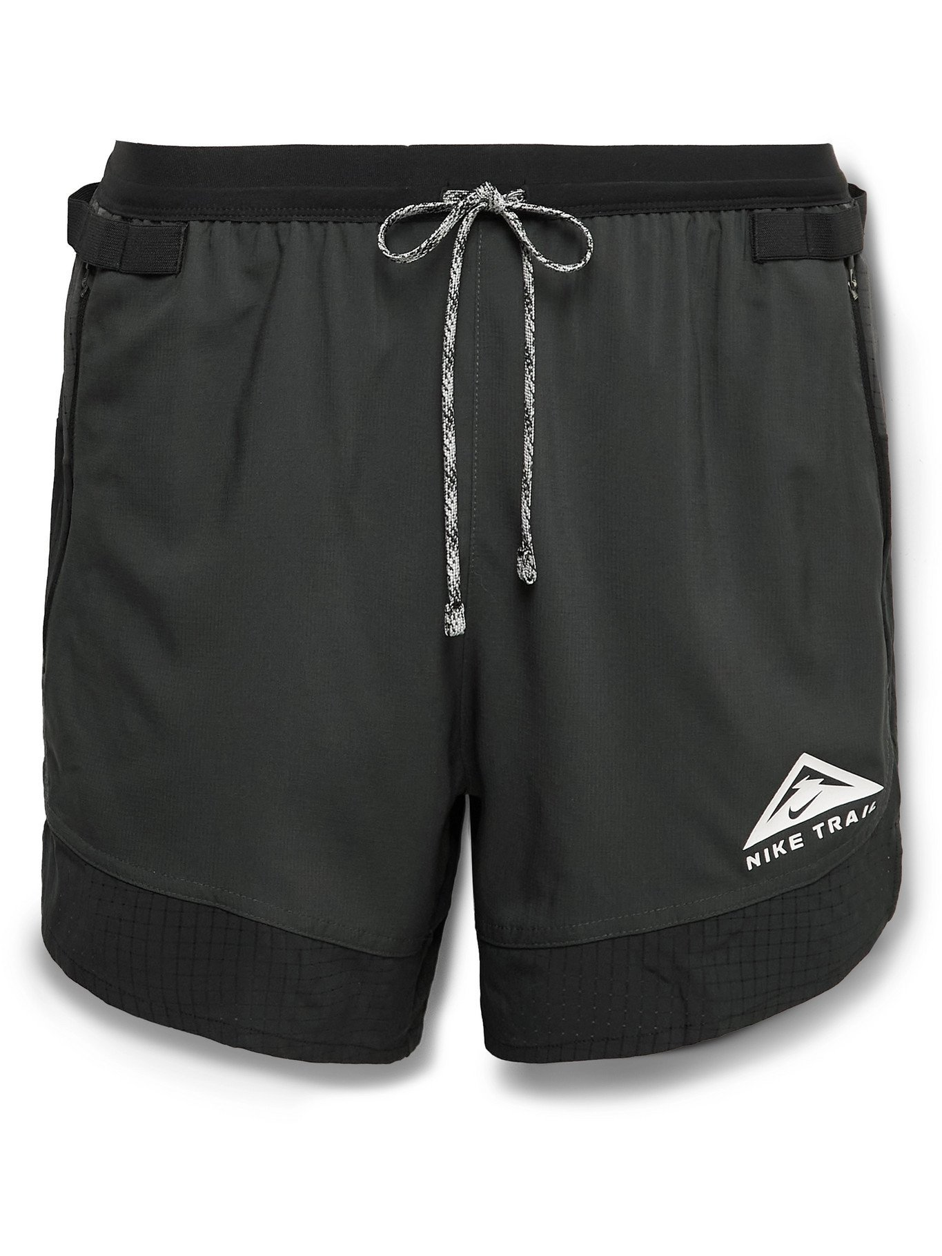 NIKE RUNNING - Flex Stride Dri-FIT Ripstop Shorts - Black - S