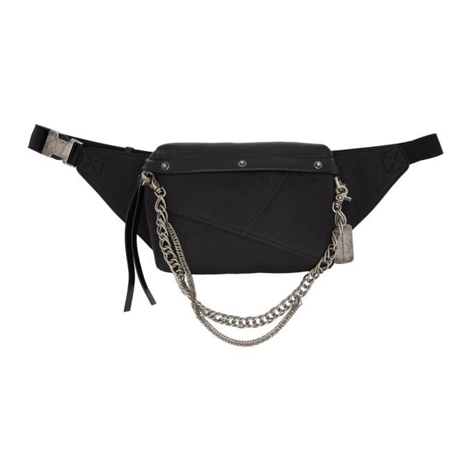 Photo: Faith Connexion Black Chain Belt Bag