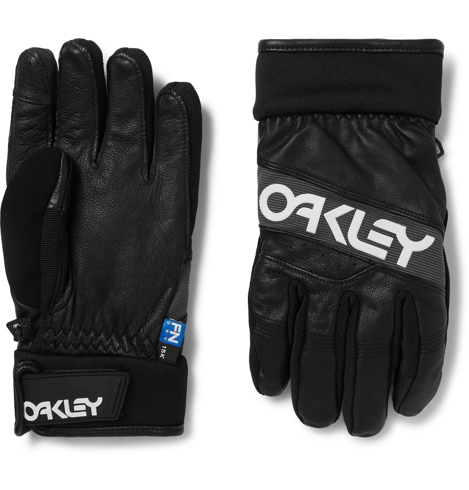 Photo: Oakley - Factory Winter 2 FN Dry and Leather Gloves - Black