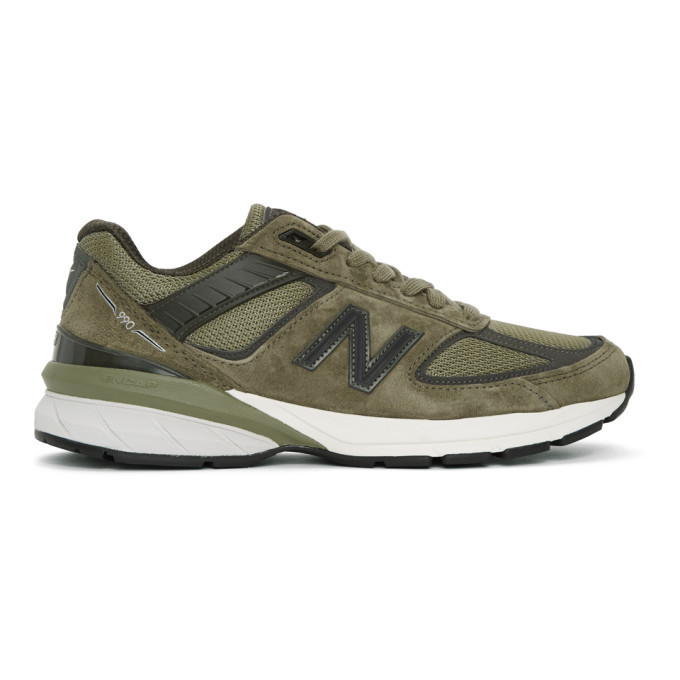 Photo: New Balance Green Made In US M990AE5 Sneakers