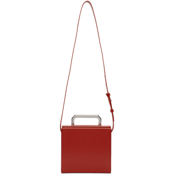 Photo: Bottega Veneta Red Mini Trunk Bag
