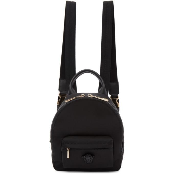 Photo: Versace Black Mini Medusa Backpack