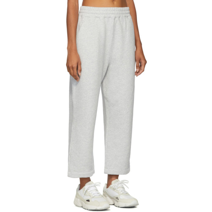 alexanderwang.t Grey Heavy French Terry Lounge Pants