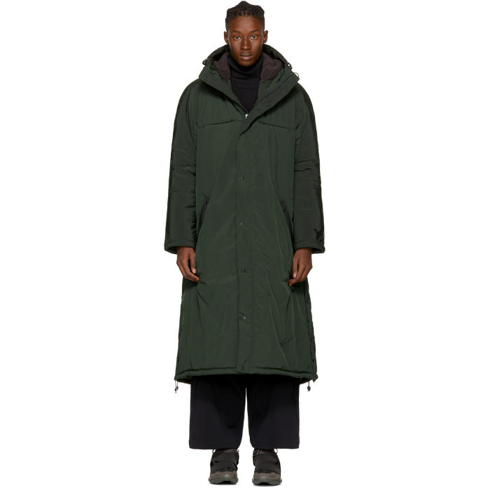 Photo: Y-3 Green Insulated Parka