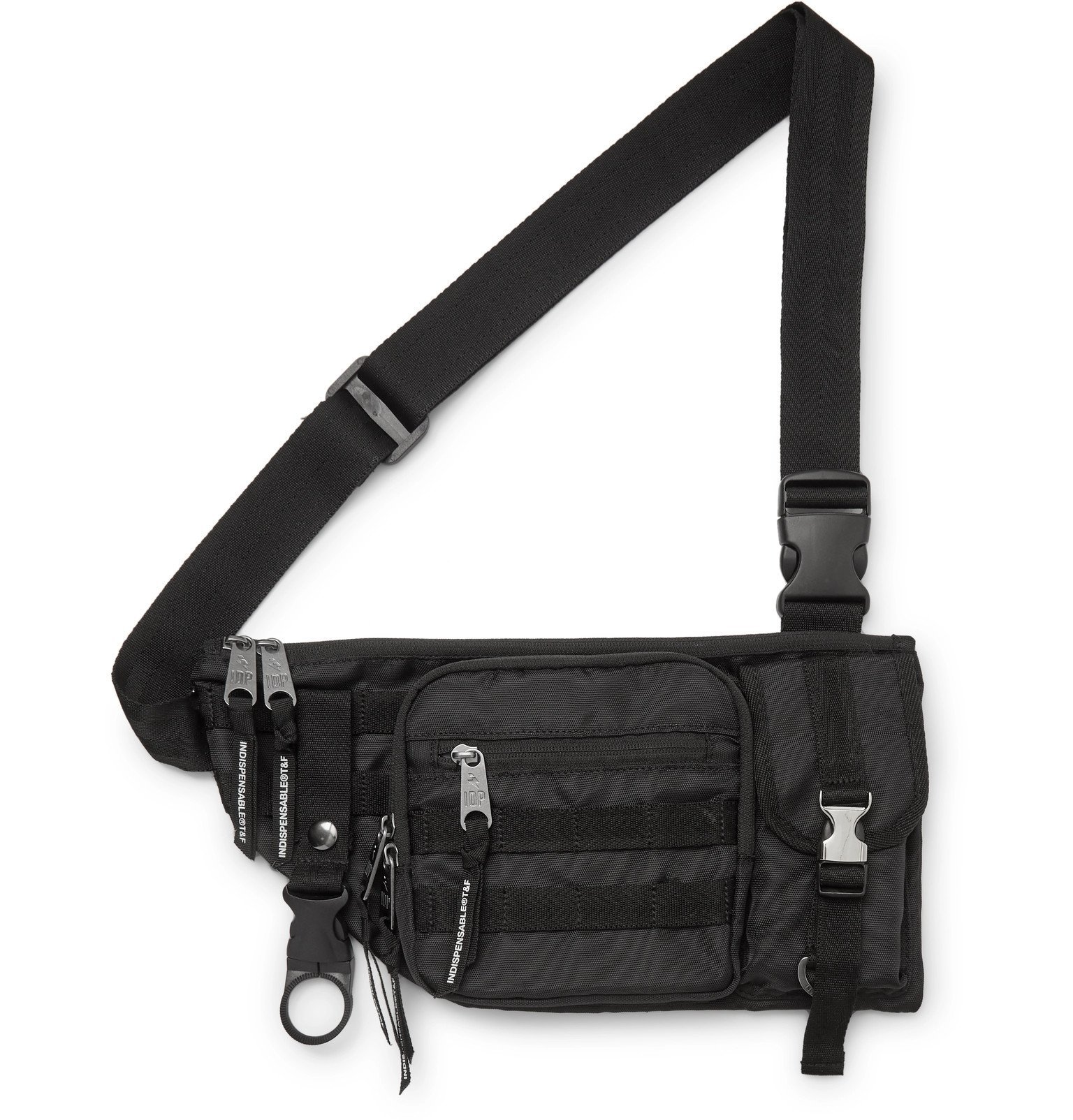 Photo: Indispensable - Armour Nylon Belt Bag - Black