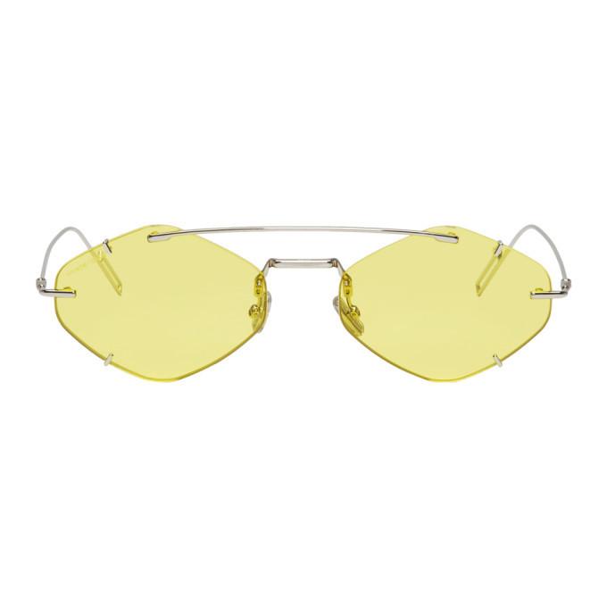 Photo: Dior Homme Yellow DiorInclusion Sunglasses