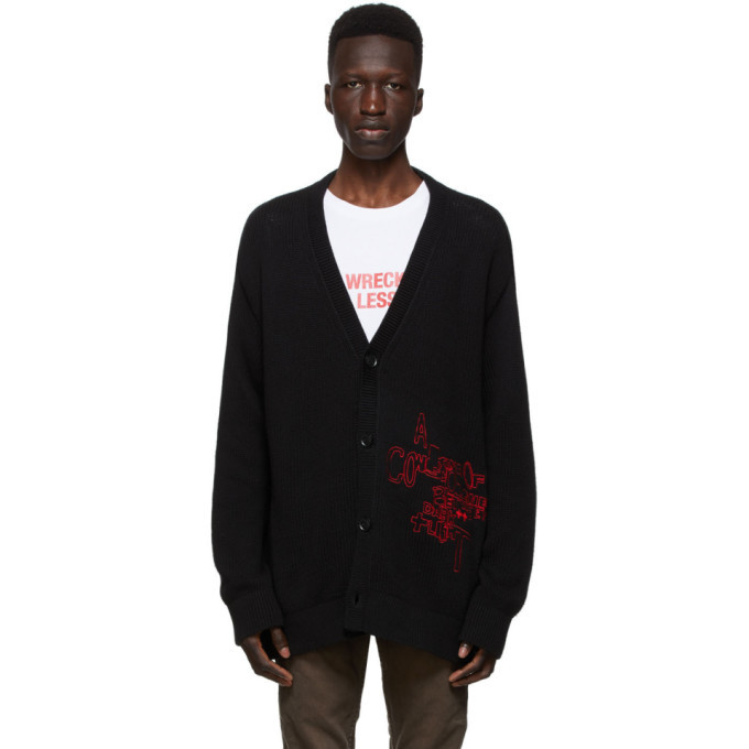 Ksubi Black Consciousness Cardigan