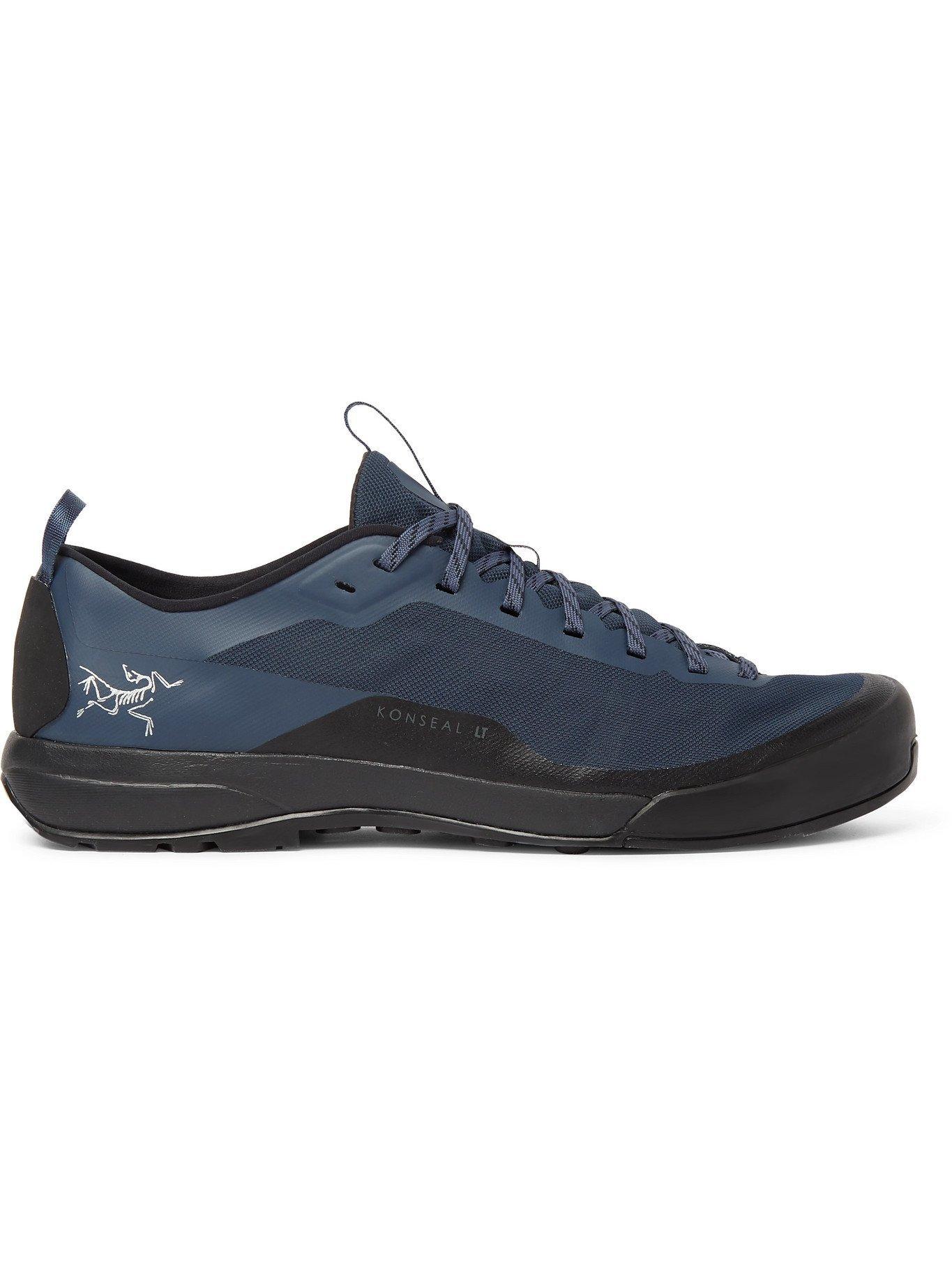 Photo: ARC'TERYX - Konseal LT Rubber-Timmed Mesh Hiking Sneakers - Blue