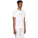 Stella McCartney White and Multicolor We Are The Weather Logo T-Shirt