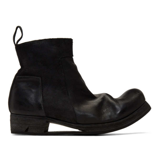 Photo: Boris Bidjan Saberi Black Zip-Up Boots