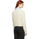 3.1 Phillip Lim Off-White Cropped Sweater