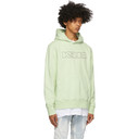 Ksubi Green Sign of the Times Hoodie