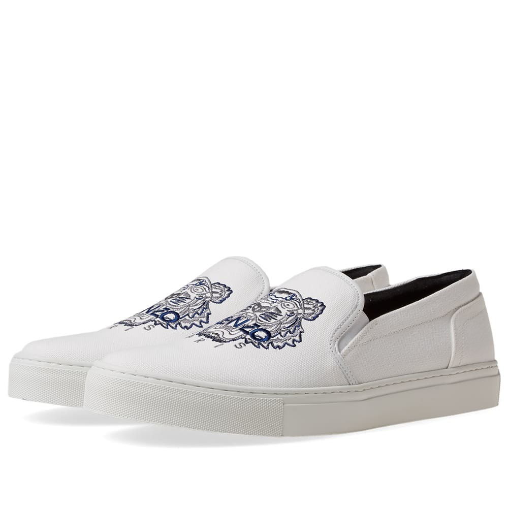 Photo: Kenzo Tiger Skate Slip On Sneaker