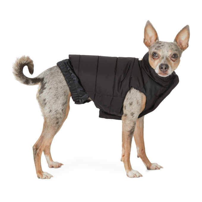 Photo: Moncler Genius Black Poldo Dog Couture Edition Taffeta Mondog Jacket