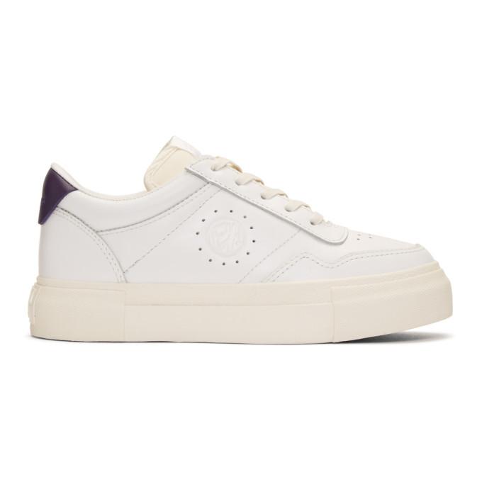 Eytys White Leather Arena Sneakers Eytys