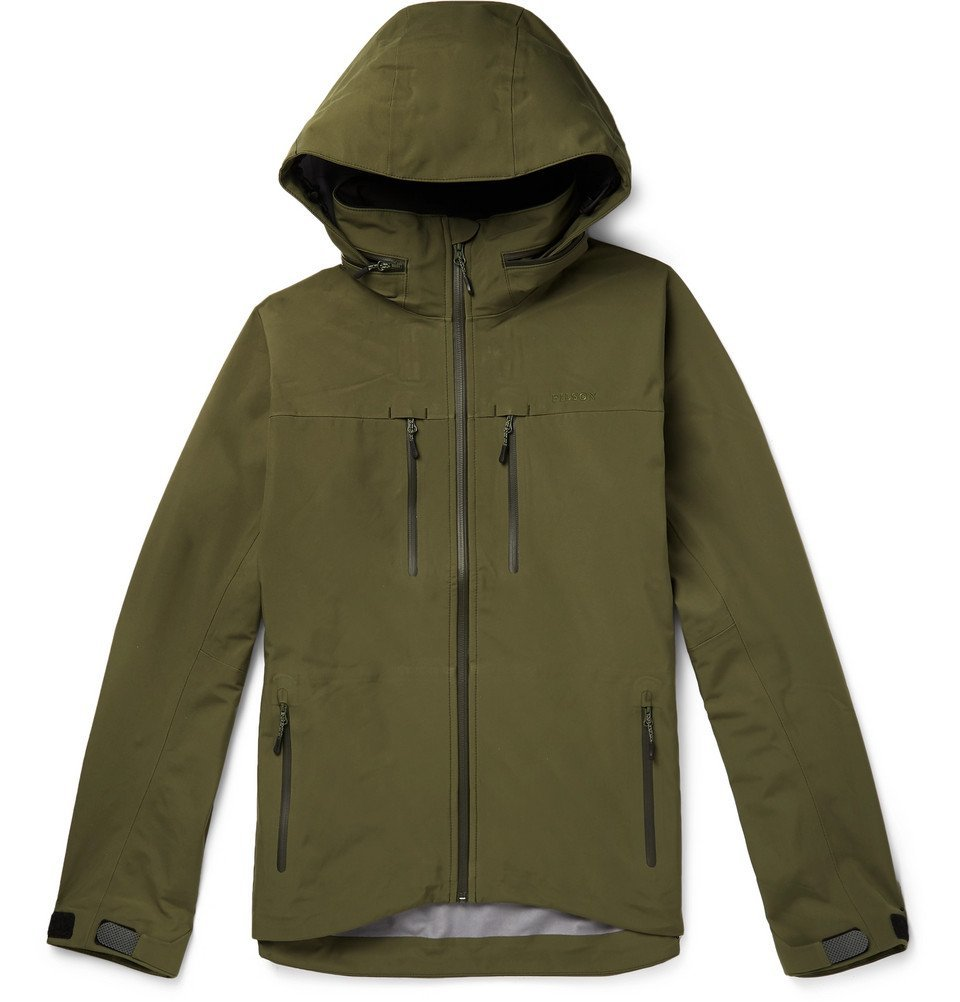 Photo: Filson - Neonshell Reliance Hooded Jacket - Green