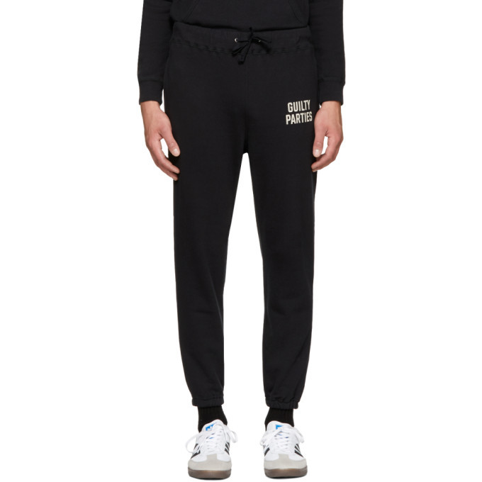Photo: Wacko Maria Black Cropped Lounge Pants