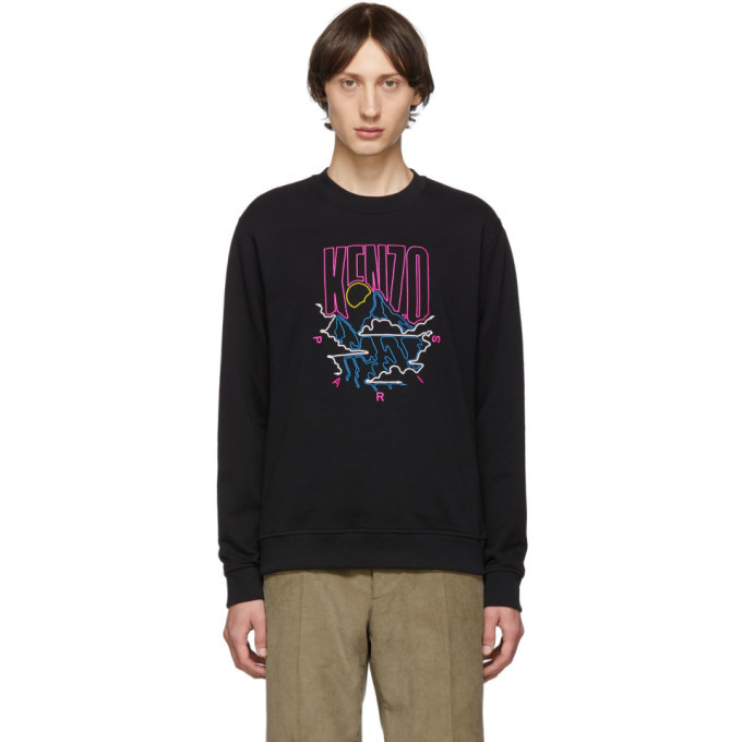 Photo: Kenzo Black Rice Bags Sweatshirt