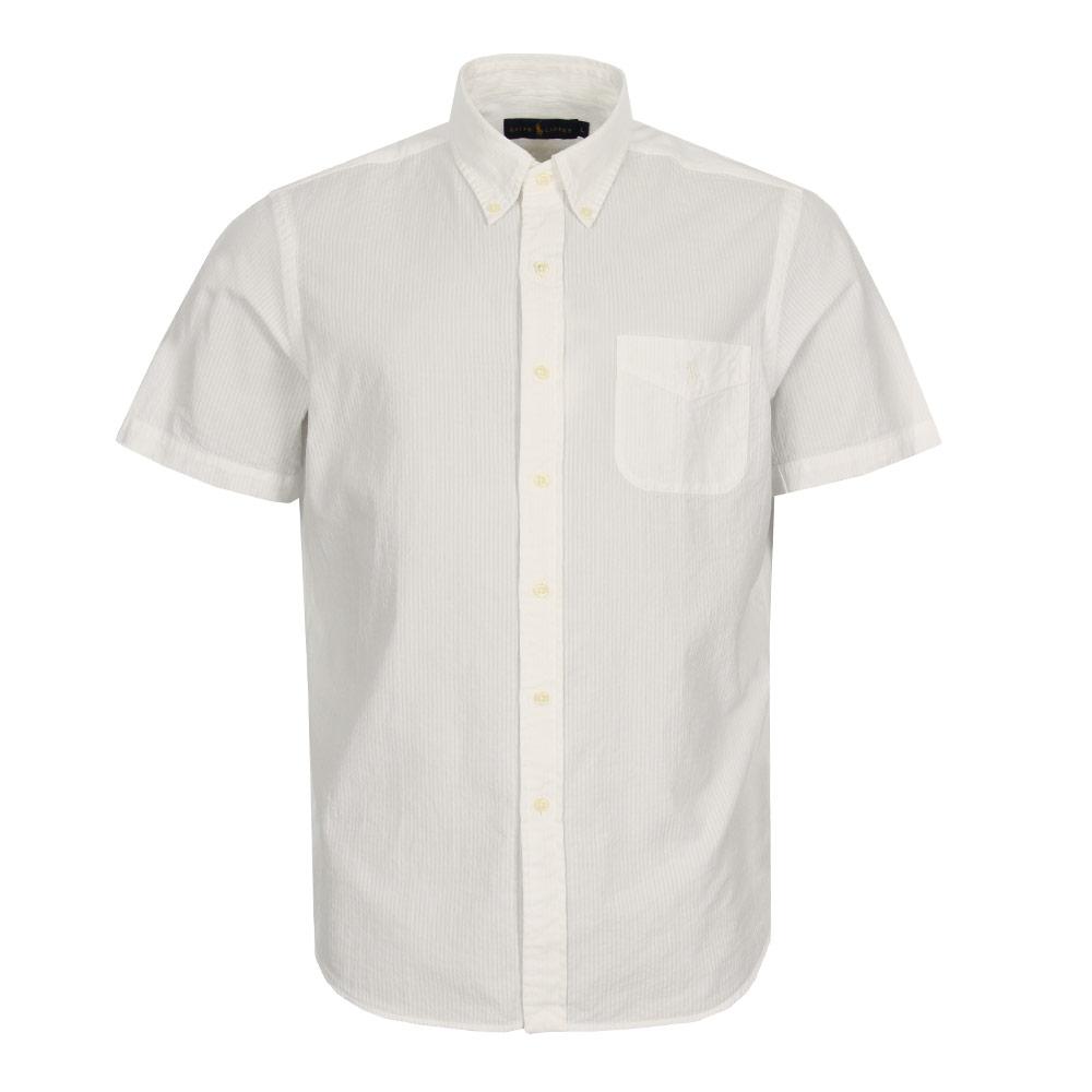 Seersucker Shirt White Polo Ralph Lauren