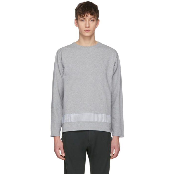 Photo: Nanamica Grey Crewneck T-Shirt