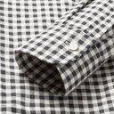 Dunhill - Slim-Fit Gingham Cotton-Flannel Shirt - Men - Gray