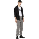 Sacai Grey Corduroy Trousers