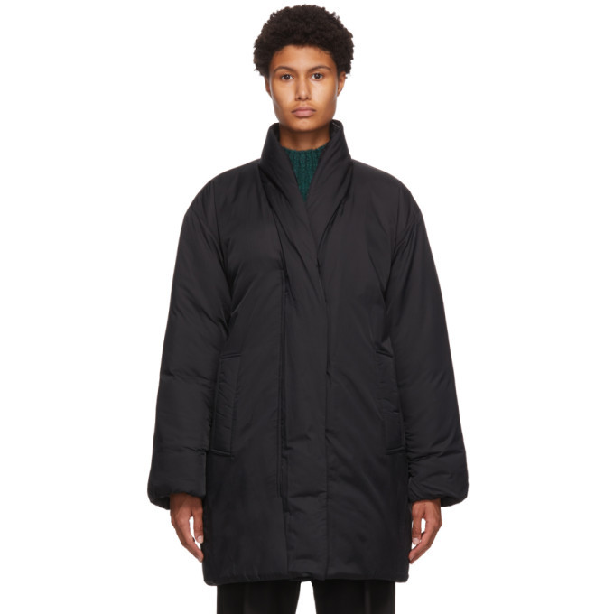 Photo: 3.1 Phillip Lim Black Long Duvet Parka Coat